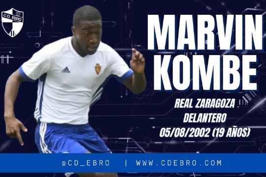 Marvin Kombe se incorpora a la estructura del CD Ebro