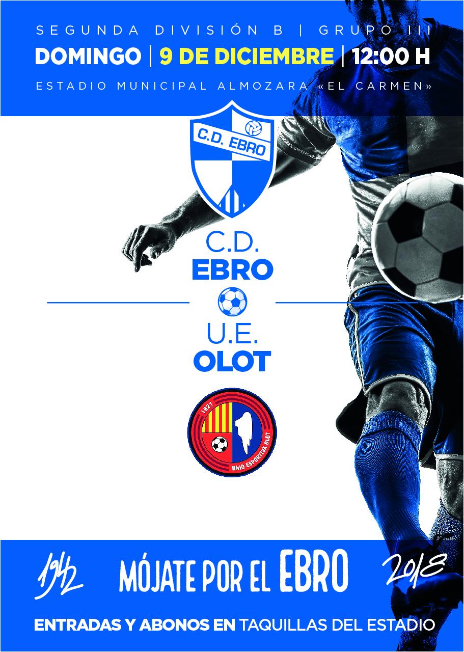 C.D. Ebro » Un CD Ebro en alza recibe al UE Olot con la intención de ...