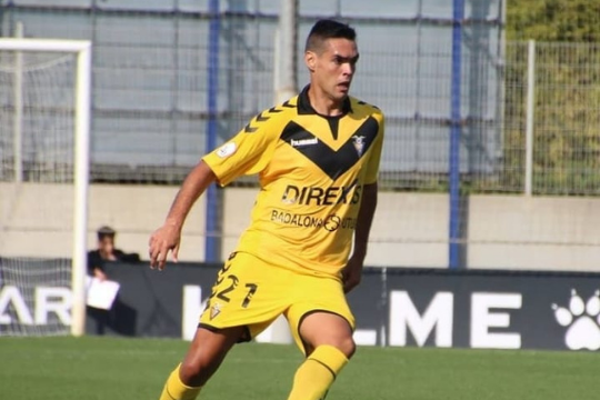 Abel Suárez, nuevo futbolista del CD Ebro
