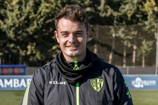 José Luis Puente, nuevo preparador de porteros del CD Ebro, llega tras 6 años en la SD Huesca