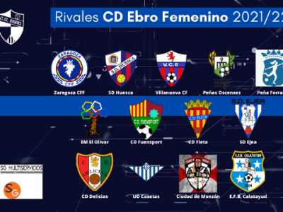 Rivales CD Ebro Femenino 202122 540x360